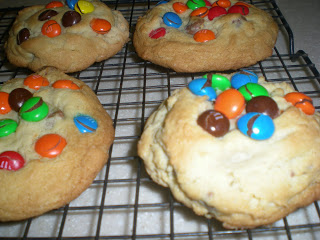 Monster Chocolate Chunk M&M Cookies