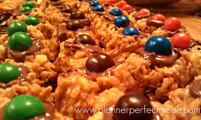 no-bake peanut butter, chocolate thumbprints