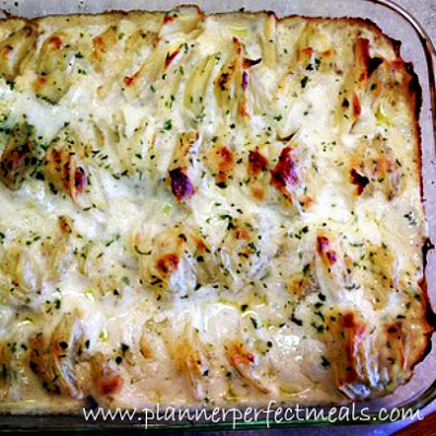 creamy thick scalloped potatoes