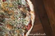 quick, no-rise pizza crust