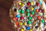 M&M Oatmeal Monster Cookies