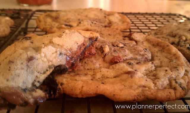 Monster Chocolate Chip Oreo Cookies
