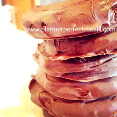 homemade chocolate thin mint cookies
