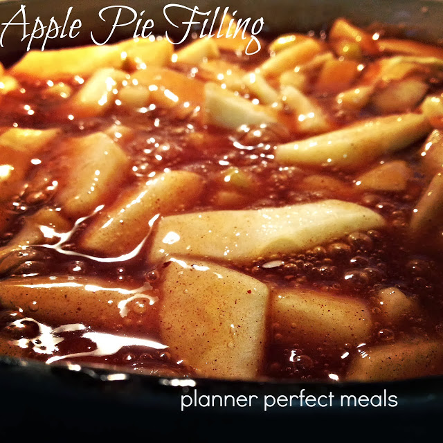 Apple Pie Filling/Freezer Meals