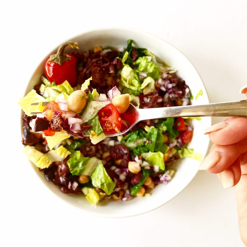 Chopped Vegan Salad