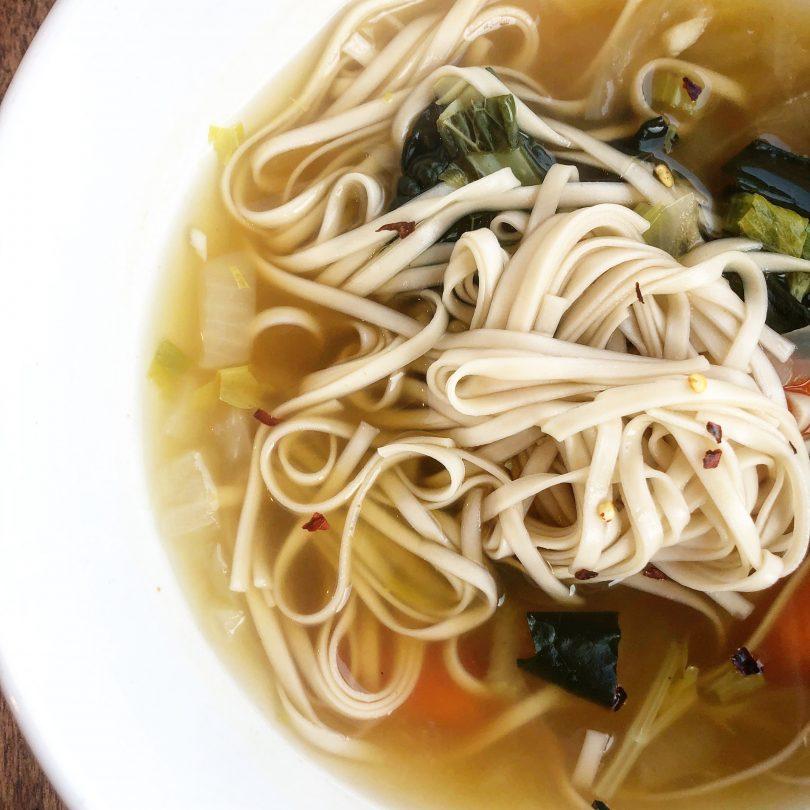 Udon Vegan Vegetable Soup